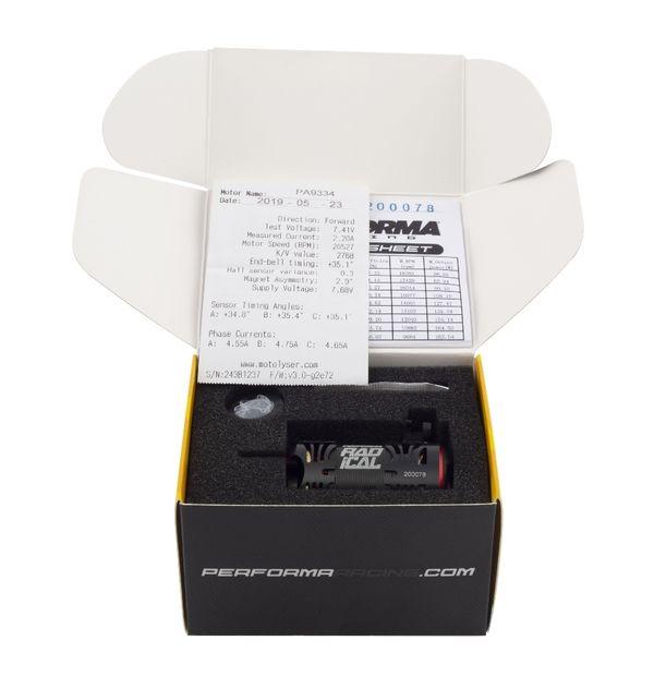 PA9335-Performa P1 Radical 540 Stock Motor 17.5 T (Qualified)